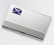 SCOTTISH FLAG DELUXE BUSINESS CARD HOLDER IN GIFT BOX