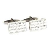 Classical Sheet Music Cufflinks