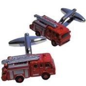 Fireman, Fire Engine Model Cufflinks.