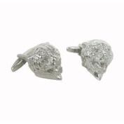 Blacklist Stainless steel Cufflinks delivered in their black tissue pouch