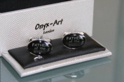 Novelty Mens Cufflinks - Father of the Bride - Wedding gift