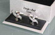Novelty Cufflinks - Dentist Chair Design