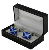 Scottish Flag Design Cufflinks