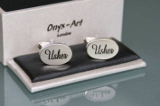 Novelty Mens Cufflinks - Usher - Wedding Gift
