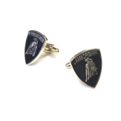 "JustforMoo ""Car Badge"" Pair of Lambourghini Cufflinks"
