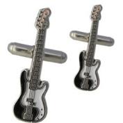 Bass Guitar Cufflinks