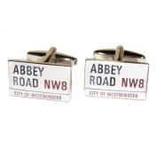 Abbey Road Sign Cufflinks