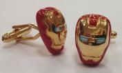 Super Hero Marvel Ironman Iron Man Cufflinks Cuff Links