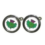 Scottish Thistle Cufflinks