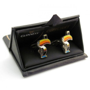 Guinness Toucan Cuff Links