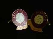 Bradford City 'Valley Parade' Football Club Cufflinks