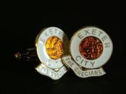 Exeter City ' The Grecians' Football Club Cufflinks