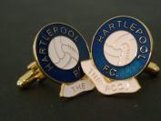 Hartlepool F.C. 'The Pool' Football Club Cufflinks