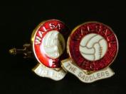 Walsall FC 'The Saddlers' Football Club Cufflinks