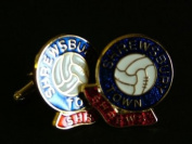 Shrewsbury Town 'The Shrews' Football Club Cufflinks