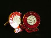 Barnsley 'Toby Tykes' Football Club Cufflinks