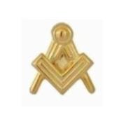 Dalaco Gold Plated Masonic Symbol Tie Tac