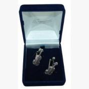 Pewter Violin Music Cufflinks Gift, Wedding, Best Man, Usher
