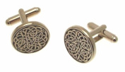Pewter cufflinks in a presentation box AEW3826000 - Celtic design