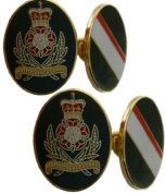 Intelligence Corps Gilt Enamel Regimental Cufflinks