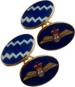 Fleet Air Arm Gilt Enamel Cufflinks