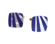 Cufflinks Mother-of-Pearl and Lapislazuli