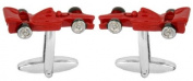 Novelty Racing Car Cufflinks