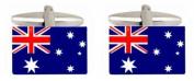 Novelty Australian Flag Cufflinks