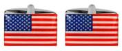 Novelty USA Flag Cufflinks