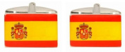 Novelty Spanish Flag Cufflinks