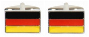Novelty German Flag Cufflinks
