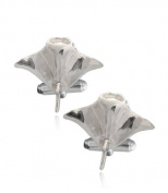 Aquamarine Jewellery Sterling Silver Manta Ray Cufflinks Gift Boxed