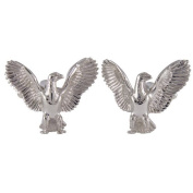 Big Eagle Cufflinks Sterling Silver handcrafted