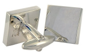 Classic Polished Square Cufflinks, Sterling Silver, handmade
