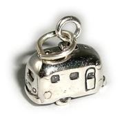 Charm Pendant Caravan 925 Sterling Silver