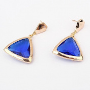 Fan Wild Sapphire Earrings
