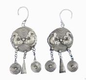 Handmade Earrings Ethnic Tribal Miao Hmong Jewellery #102.