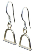 Silver Horse Jewellery Stirrup Earrings |Handmade 925 Sterling. Gift Wrapped
