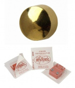 Studex Ear Piercing Gold Plated Stud Earrings Traditional Plain 4mm Ball