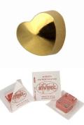 Studex Ear Piercing Gold Plated Plain Heart Shape Stud Earrings 4mm