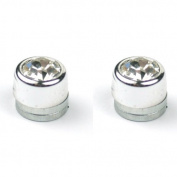 OMYGOD Magnetic crystal stud earrings - small 5mm diameter