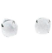 Quartz 925 silver Earrings