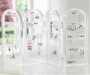 Earrings Display & Store Holding Up To 128 Pairs Of Stud Earrings