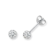 SILVER CRYSTAL EARRINGS STUDS Weight