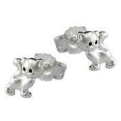 Earring cats silver 925