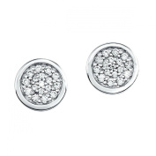 s.Oliver Jewels Herbst Winter Kollektion 2013 462723 Cubic Zirconia Silver Stud Earrings