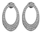 Misaki Women Stud earring Silver ALESSHORT PESCALESSHORT