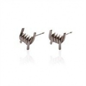 Sheena Shona Jewellery 21st Birthday Gift A Sterling Silver Barb Wire Stud Earrings