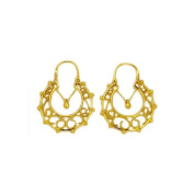 Souvenirs of France - Savoy Creoles Earrings - Width 3cm - Material