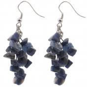 Chip Earrings - Sodalite